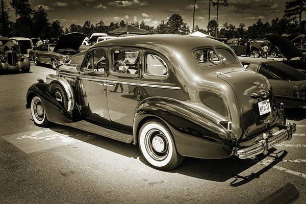 Photograph - 1937 Buick 40 Special 5541.72 by M K Miller