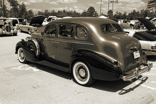 Photograph - 1937 Buick 40 Special 5541.73 by M K Miller