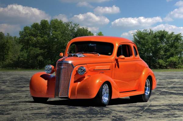 Photograph - 1937 Chevrolet Coupe by Tim McCullough