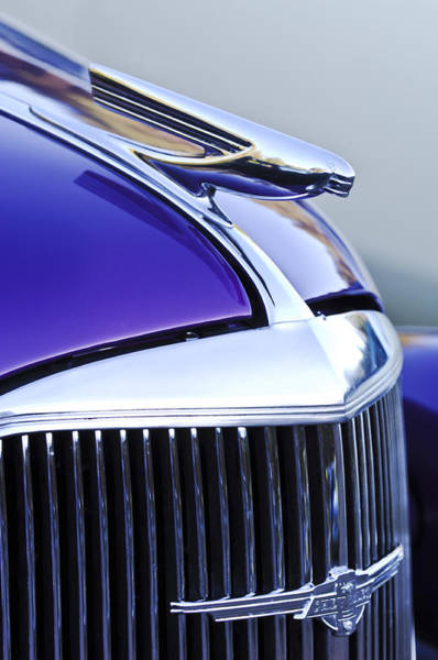 Photograph - 1937 Chevrolet Hood Ornament 2 by Jill Reger