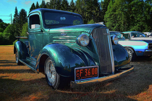 Digital Art - 1937 Chevrolet Pickup by Richard Farrington