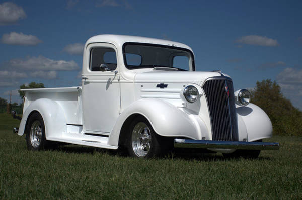 Photograph - 1937 Chevrolet Pickup Truck by Tim McCullough