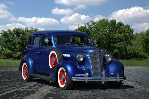 Photograph - 1937 Chevrolet Sedan by Tim McCullough