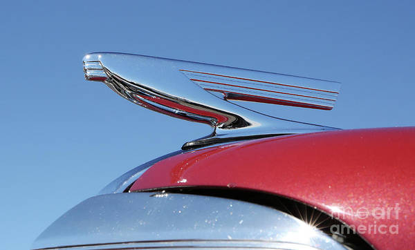 Photograph - 1937 Chevy Hood Ornament by Kevin McCarthy