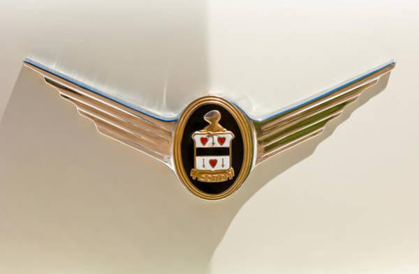Photograph - 1937 Cord 812 Sc Phaeton Emblem by Jill Reger