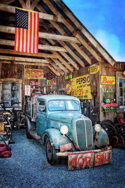 Wall Art - Photograph - 1937 Ford Pickup Truck by Debra and Dave Vanderlaan