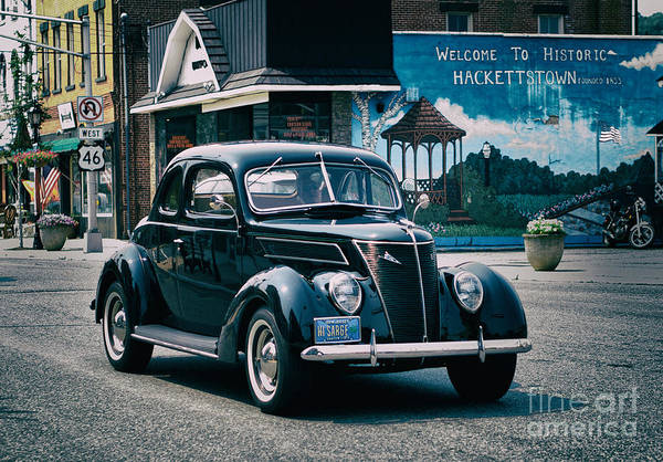 Wall Art - Photograph - 1937 Ford Sedan by Mark Miller