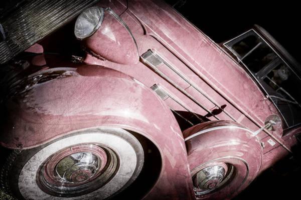Wall Art - Photograph - 1937 Packard 1508 Dietrich Convertible Sedan -0035ac by Jill Reger