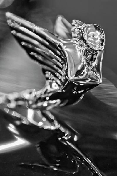 Photograph - 1938 Cadillac V16 Hood Ornament by Jill Reger