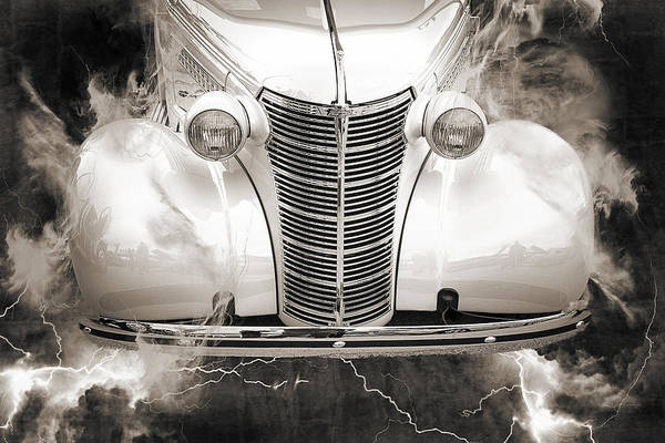 Photograph - 1938 Chevrolet Classic Car Photograph 6747.01 by M K Miller