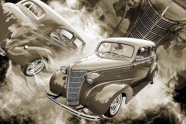 Photograph - 1938 Chevrolet Classic Car Photograph 6748.01 by M K Miller