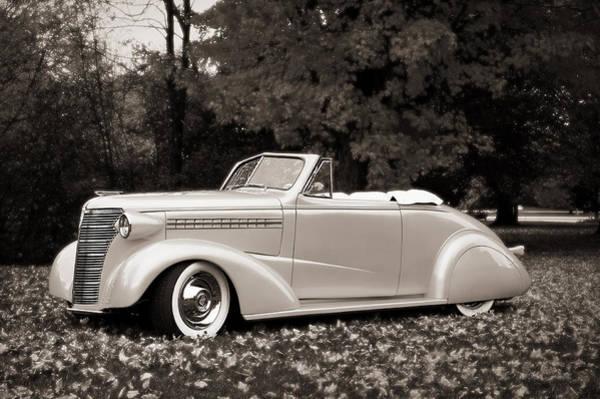 1938 Chevrolet Convertible Art Print