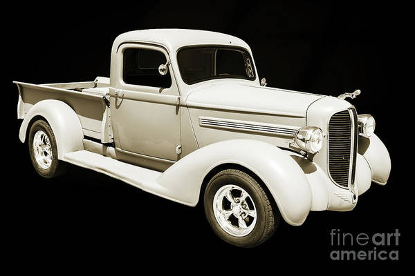 Photograph - 1938 Dodge Pickup Truck 5540.02 by M K Miller