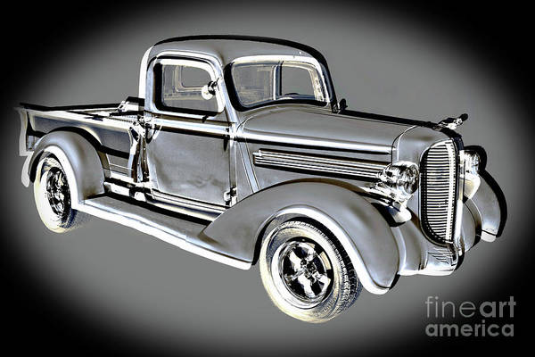 Photograph - 1938 Dodge Pickup Truck 5540.03 by M K Miller