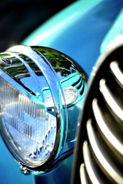 Photograph - 1938 Ford Bezel by Jerry Sodorff