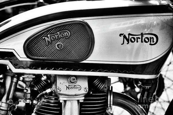 Photograph - 1938 Norton International 30 Motorcycle by Tim Gainey
