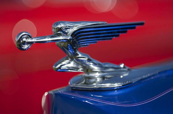 Photograph - 1938 Packard Hood Ornament 2 by Jill Reger