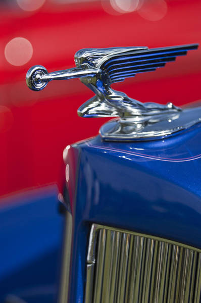 Photograph - 1938 Packard Hood Ornament by Jill Reger