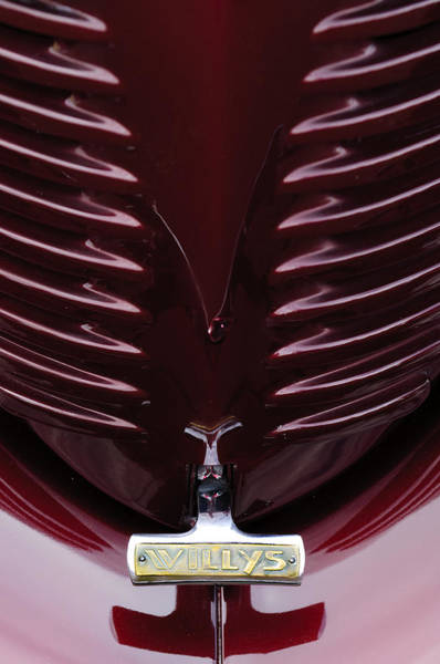 Photograph - 1938 Willys Grille by Jill Reger