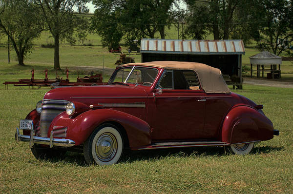 Photograph - 1939 Chevrolet Convertible by Tim McCullough