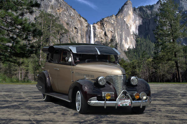 Photograph - 1939 Chevrolet Sedan Custom Street Rod by Tim McCullough