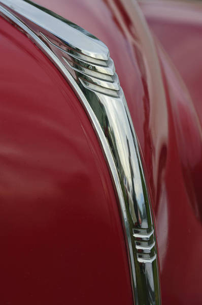 Photograph - 1939 Mercury Hood Ornament by Jill Reger