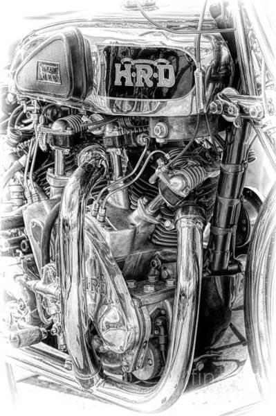 Photograph - 1939 Vincent Hrd Rapide by Tim Gainey