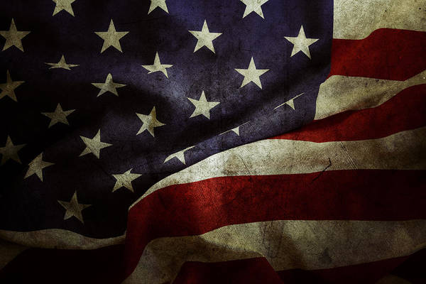 National Flag Wall Art - Photograph - American Flag 78 by Les Cunliffe