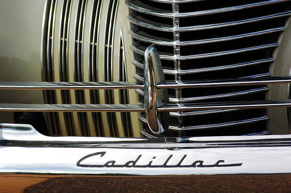 Photograph - 1940 Cadillac 60 Special Sedan Grille by Jill Reger