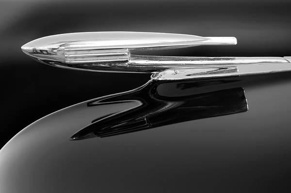 Photograph - 1940 Cadillac La Salle Hood Ornament 2 by Jill Reger