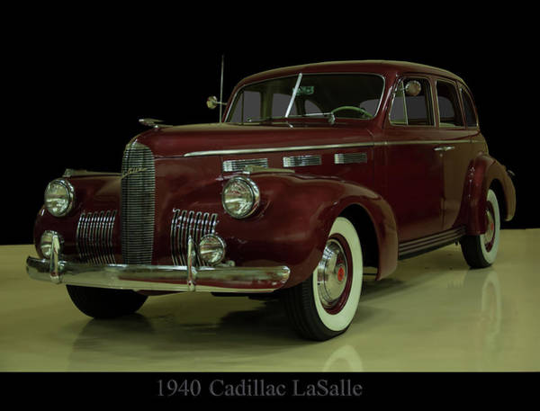 Photograph - 1940 Cadillac Lasalle by Chris Flees