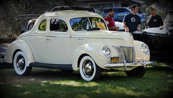 Photograph - 1940 Ford Coupe Deluxe by AJ Schibig