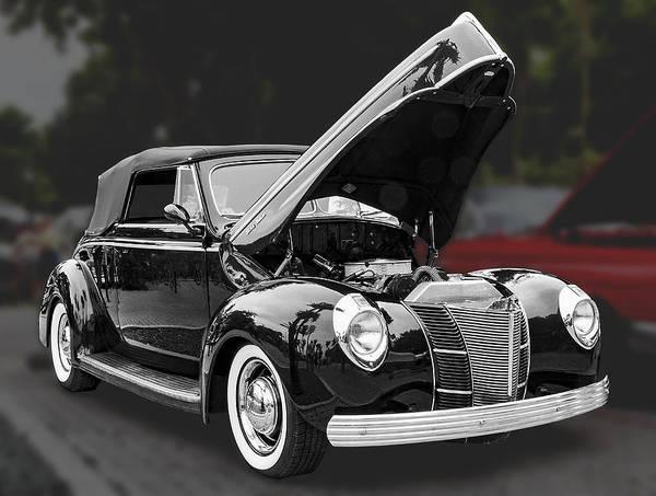 Photograph - 1940 Ford Deluxe Automobile by Bob Slitzan