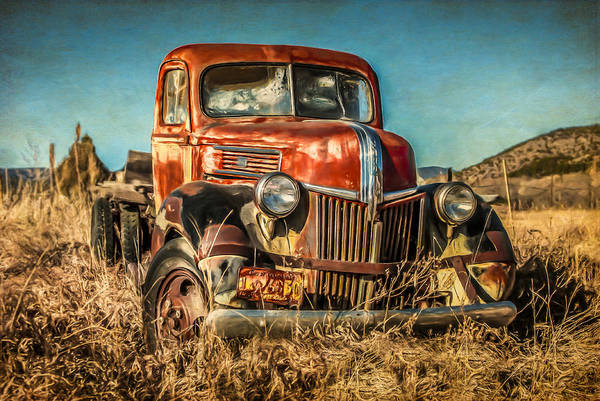 Photograph - 1940 Ford by Lou  Novick