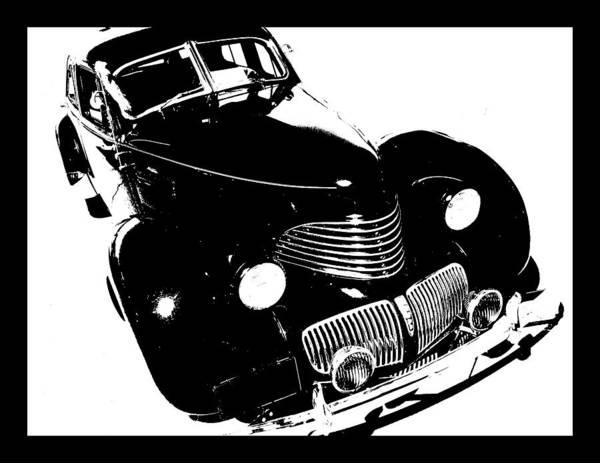 Digital Art - 1940 Hupp Skylark Tee by David King