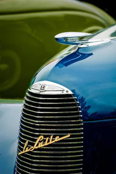 Photograph - 1940 Lasalle Series 52 Hood Ornament by Jill Reger