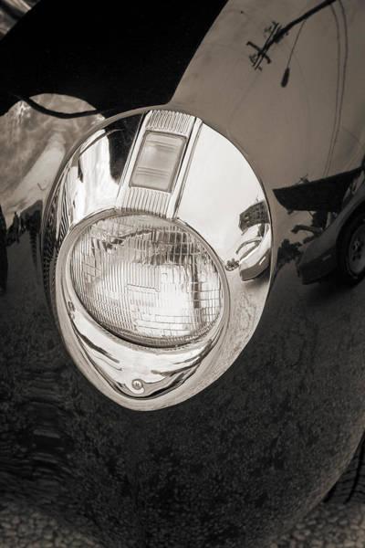 Photograph - 1940 Mercury Convertible Vintage Classic Car Photograph 5213.01 by M K Miller