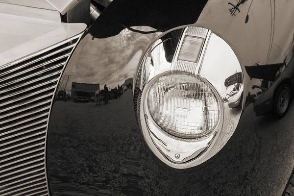Photograph - 1940 Mercury Convertible Vintage Classic Car Photograph 5214.01 by M K Miller