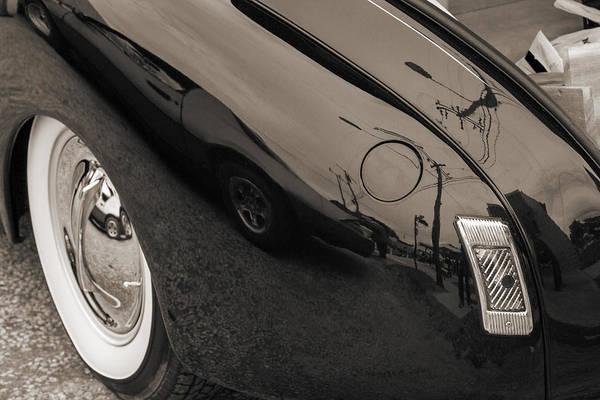 Photograph - 1940 Mercury Convertible Vintage Classic Car Photograph 5218.01 by M K Miller