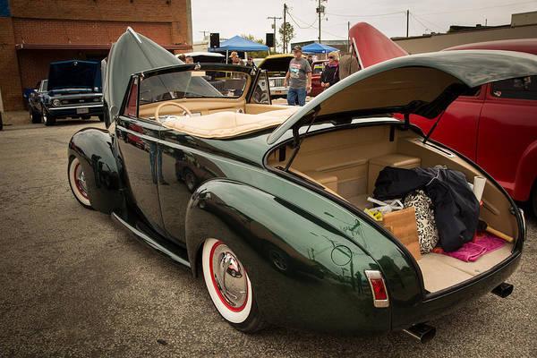 Photograph - 1940 Mercury Convertible Vintage Classic Car Photograph 5230.02 by M K Miller