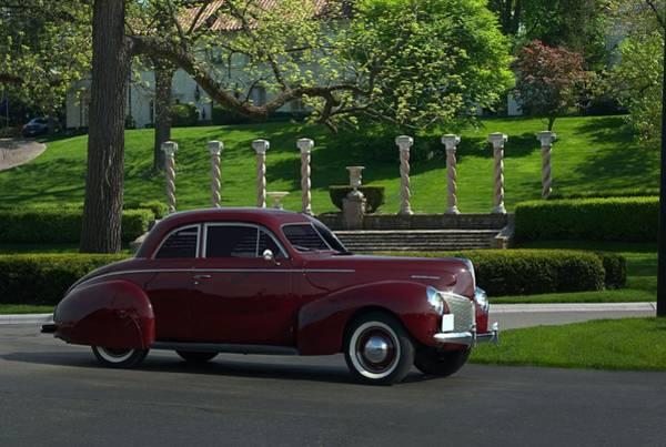 1940 Mercury Coupe Art Print