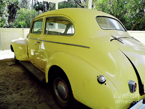 Photograph - 1940 Oldsmobile by D Hackett