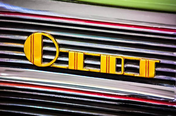 Photograph - 1940 Oldsmobile Emblem by Jill Reger