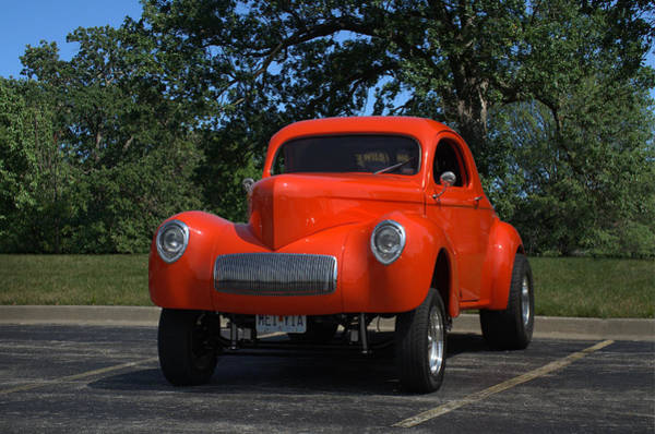Photograph - 1940 Willis Hot Rod by Tim McCullough