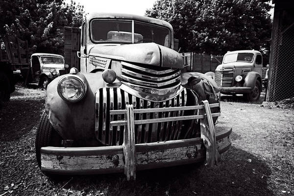 Wall Art - Photograph - 1940's Chevrolet Truck by Daniel Hagerman