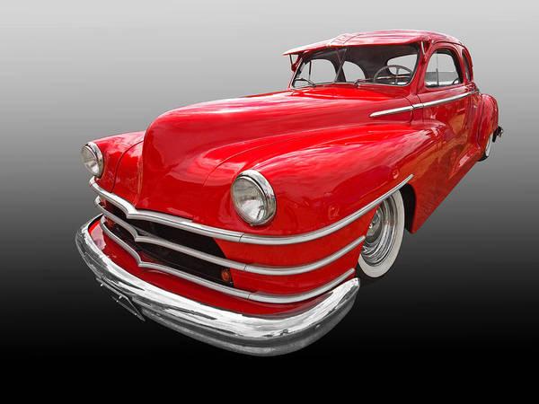 Photograph - 1940s Custom Chrysler New Yorker In Red by Gill Billington