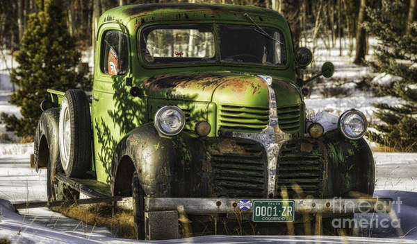Photograph - 1940's Dodge  by Bitter Buffalo Photography