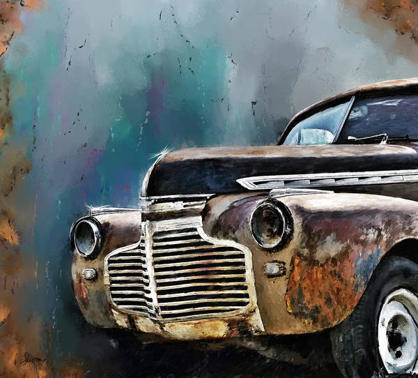 Digital Art - 1941 Chevy by Susan Kinney