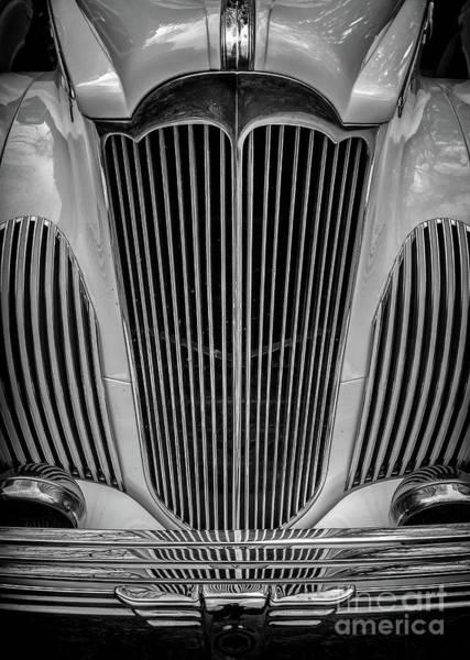 1941 Packard Convertible Art Print