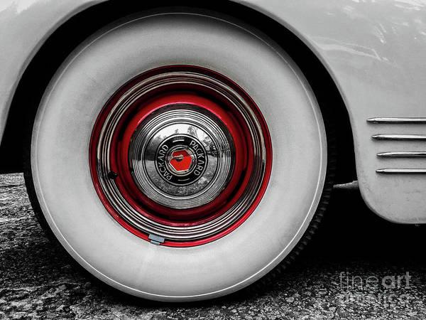 1941 Packard Convertible Wheels Art Print